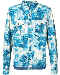 Moncler Trionphe Shirt Jacket - Blauw