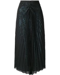 Marco De Vincenzo - Pleated Layered Skirt - Lyst