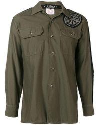 John Richmond - Embellished Howard Overshirt - Lyst