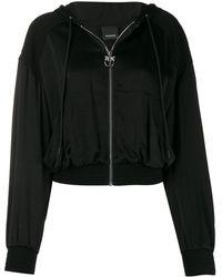 Pinko ボンバージャケット - ブラック