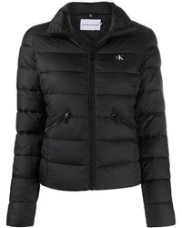 Calvin Klein キルティング ジャケット - ブラック