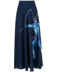Isolda Arara Azul スカート - ブルー
