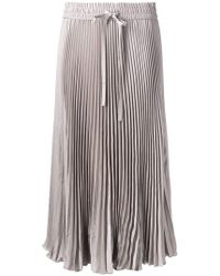 d356f27a8b RED Valentino - Sunray Pleated Skirt - Lyst