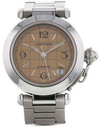Cartier Наручные Часы Pasha Pre-owned 2000-х Годов - Коричневый