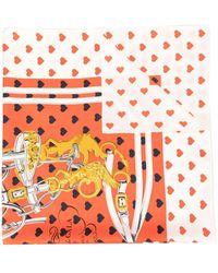 Hermès Pre-owned Printed Scarf - Red