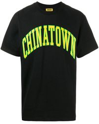 Chinatown Market ロゴ Tシャツ - ブラック