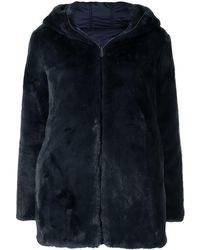 Save The Duck Bridget Faux-fur Coat - Blue