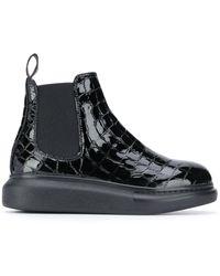 Alexander McQueen Ботинки Челси Hybrid - Черный