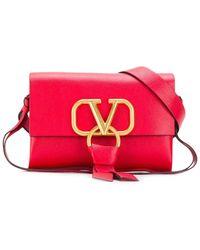 Valentino Valentino Garavani Vring Belt Bag - Red