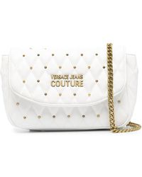 Versace Jeans Couture - キルティング ショルダーバッグ - Lyst