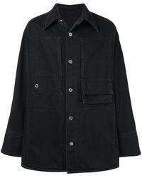 Wooyoungmi Джинсовая Куртка-рубашка - Черный
