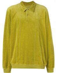 Supreme ロングスリーブ ポロシャツ - グリーン
