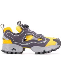Reebok Instapump Fury Trail Shroud Sneakers - Yellow
