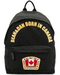 DSquared² - Sac à dos Dean & Dan Born In Canada - Lyst