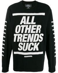 Neighborhood All Other Trends Suck スウェットシャツ - ブラック