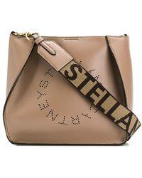 Stella McCartney Сумка На Плечо С Перфорированным Логотипом - Многоцветный