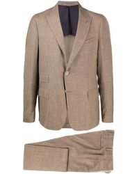 Eleventy Two-piece Formal Suit - Brown
