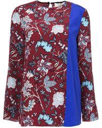 Diane von Furstenberg Canton floral blouse - Mehrfarbig