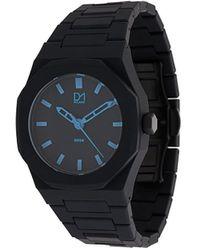 D1 Milano A-ne01 Neon Watch - Black