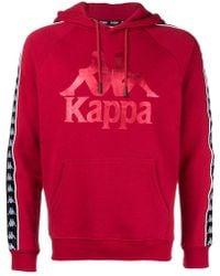 Panel Hombre Kappa Sudadera Lateral Con Lyst Capucha De qX7twxP0 c92c03de8c568