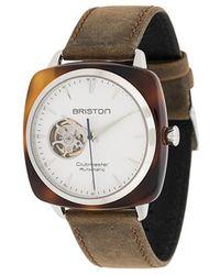 Briston Clubmaster Iconic Horloge - Wit