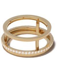 De Beers 18kt Geelgouden Ring - Metallic