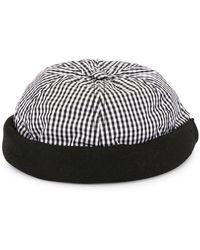 02cdf973523c0 Lyst - Beton Cire Beret Hat in Pink