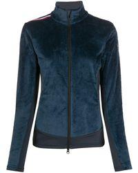 Rossignol Palmares Textured Zip-up Sweatshirt - Blue