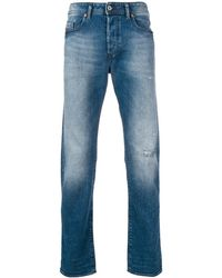 DIESEL Buster Tapered Jeans - Blue