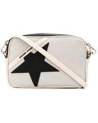Golden Goose Deluxe Brand Star Cross-body Bag - White