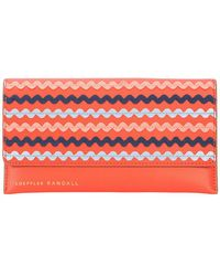 Loeffler Randall - Wave Design Wallet - Lyst