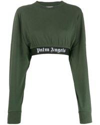Palm Angels ロゴ スウェットシャツ - マルチカラー