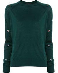 Emporio Armani - ロゴ セーター - Lyst