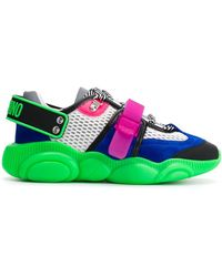 Moschino Sneakers Teddy Shoes Fluo - Vert