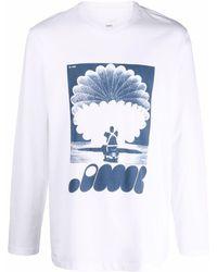 OAMC Trance Long-sleeved T-shirt - White