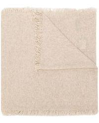 Pringle of Scotland - Fringed-hem Knitted Scarf - Lyst