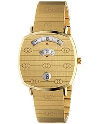 Gucci グリップ 腕時計 - メタリック