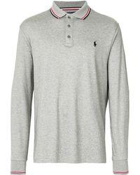 Polo Ralph Lauren ロングスリーブ ポロシャツ - グレー
