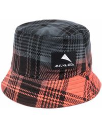 Mauna Kea Logo-patch Bucket Hat - Grey