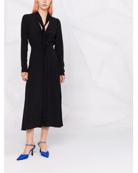 N°21 ボウタイ ドレス - ブラック