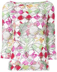 Ultrachic - Floral Sweater - Lyst