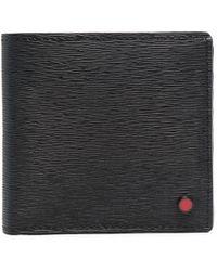 Kiton Бумажник Из Сафьяновой Кожи - Черный