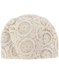 Antonio Marras - Lace-embroidered Fitted Hat - Lyst