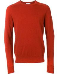 AMI Crew Neck Sweater - オレンジ
