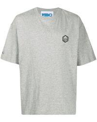 YMC ロゴ Tシャツ - グレー