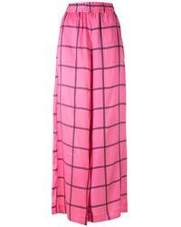 EVA ワイドパンツ - ピンク