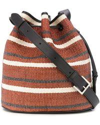 Hunting Season Large Drawstring Bucket Bag - Black