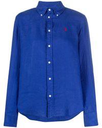 Polo Ralph Lauren ロゴ シャツ - ブルー