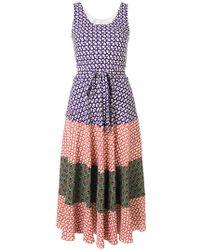 Duro Olowu Vestito con design color-block - Multicolore