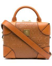 MCM - ロゴ ハンドバッグ - Lyst